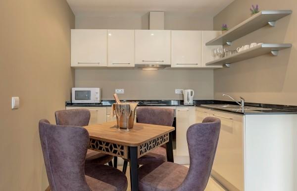 1-bedroom apt. kitchenette 1